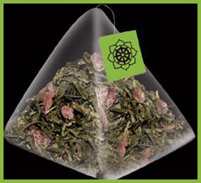 Té Verde sencha con cerezas
