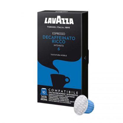 Cápsula café lavazza descafeinado