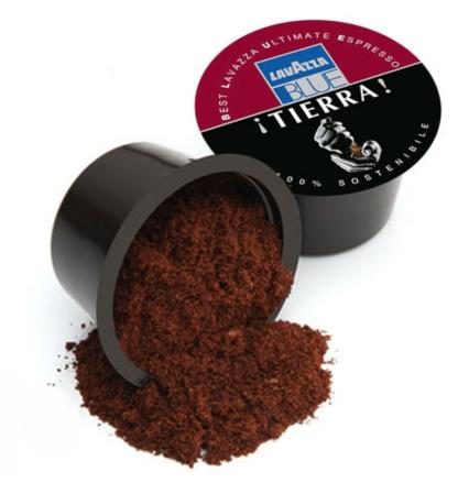 Cápsula café lavazza tierra